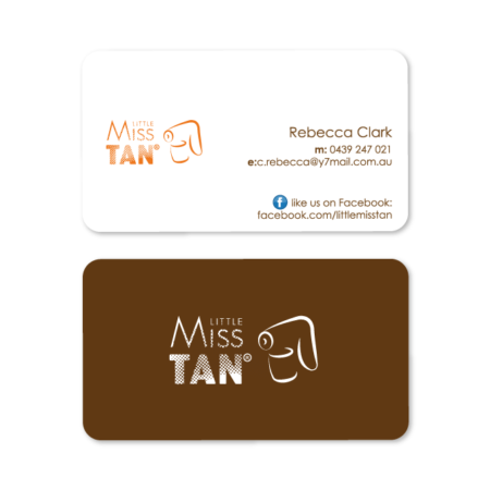 business card design miss tan