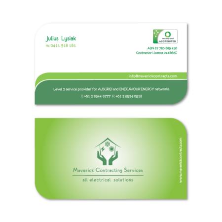 business cards design julius