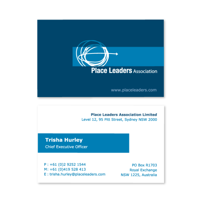 Business cards and stationery design sydney business card design place leaders association reheart Choice Image