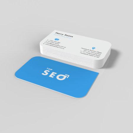 business cards design top SEO Sydney