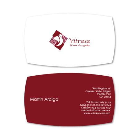 business cards design vitrasa