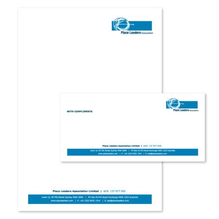 letterhead and compliment slips design
