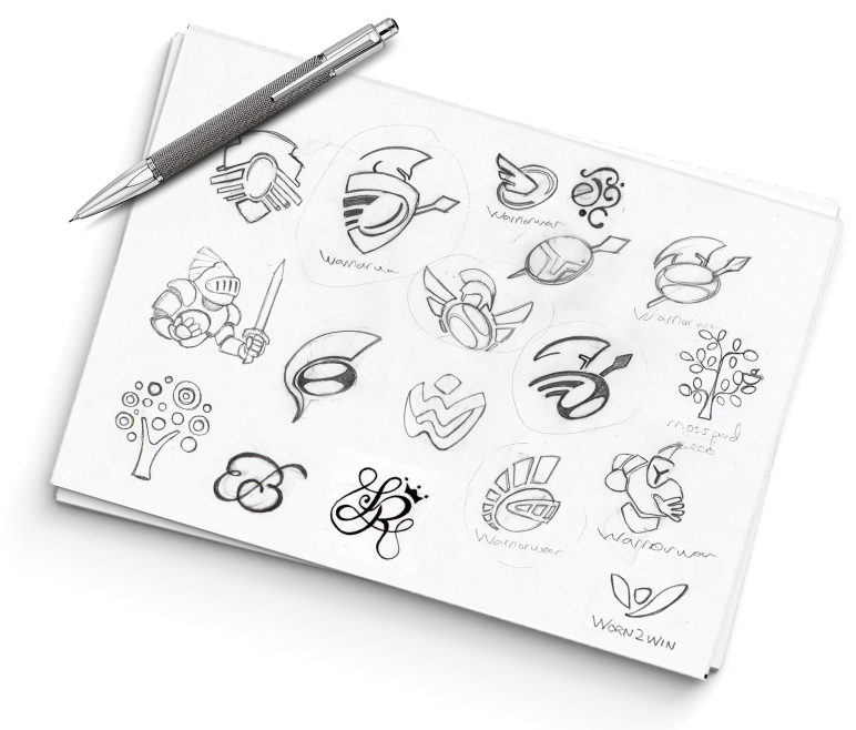 sketches logo design